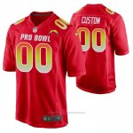 Camiseta NFL Pro Bowl Los Angeles Chargers Personalizada Rojo