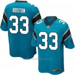Camiseta Carolina Panthers Boston Lago Azul Nike Game NFL Nino