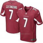 Camiseta Arizona Cardinals Catanzaro Rojo Nike Elite NFL Hombre