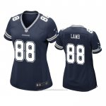 Camiseta NFL Game Mujer Dallas Cowboys Ceedee Lamb Azul