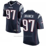 Camiseta New England Patriots Branch Negro Nike Game NFL Hombre
