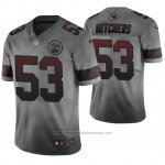 Camiseta NFL Kansas City Chiefs Anthony Hitchens Ciudad Gris