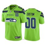 Camiseta NFL Limited Seattle Seahawks Personalizada Big Logo Number Verde