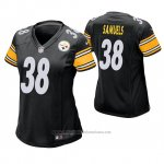 Camiseta NFL Game Mujer Pittsburgh Steelers Jaylen Samuels Negro