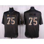 Camiseta Pittsburgh Steelers Greene Apagado Gris Nike Anthracite Salute To Service NFL Hombre