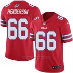 Camiseta Buffalo Bills Henderson Rojo Nike Legend NFL Hombre