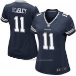 Camiseta Dallas Cowboys Beasley Negro Nike Game NFL Mujer