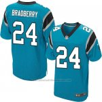 Camiseta Carolina Panthers Bradberry Azul Nike Elite NFL Hombre