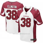 Camiseta Arizona Cardinals Ellington Rojo y Blanco Nike Elite NFL Hombre