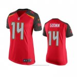 Camiseta NFL Game Mujer Tampa Bay Buccaneers Chris Godwin Rojo