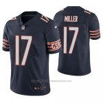 Camiseta NFL Limited Chicago Bears Anthony Miller Azul Vapor Untouchable