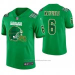 Camiseta NFL Limited Hombre Cleveland Browns Baker Mayfield St. Patrick's Day Verde