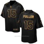 Camiseta Houston Texans Fuller Negro 2016 Nike Elite Pro Line Gold NFL Hombre