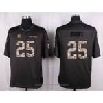 Camiseta Pittsburgh Steelers Burns Apagado Gris Nike Anthracite Salute To Service NFL Hombre
