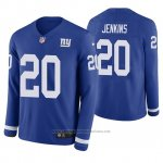 Camiseta NFL Hombre New York Giants Janoris Jenkins Azul Therma Manga Larga