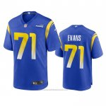 Camiseta NFL Game Los Angles Rams Bobby Evans 2020 Azul