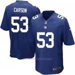 Camiseta New York Giants Carson Azul Nike Game NFL Nino