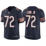 Camiseta NFL Limited Chicago Bears Charles Leno Jr. Azul Vapor Untouchable