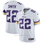 Camiseta NFL Limited Hombre Minnesota Vikings 22 Smith Blanco