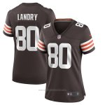 Camiseta NFL Game Mujer Cleveland Browns Jarvis Landry Marron