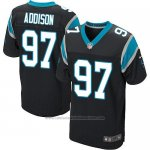 Camiseta Carolina Panthers Addison Negro Nike Elite NFL Hombre