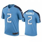 Camiseta NFL Legend Tennessee Titans Cole Mcdonald Azul Color Rush
