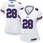 Camiseta Buffalo Bills Darby Blanco Nike Game NFL Mujer