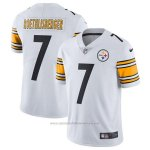 Camiseta NFL Limited Hombre Pittsburgh Steelers 7 Roethlisberger Blanco