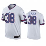 Camiseta NFL Legend New York Giants Rashaan Gaulden Blanco Color Rush