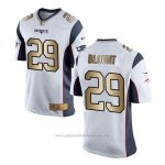 Camiseta New England Patriots Blount Blanco Nike Gold Game NFL Hombre