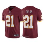 Camiseta NFL Limited Hombre Washington Redskins 21 Sean Taylor Rojo Vapor Untouchable Throwback