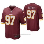 Camiseta NFL Game Washington Redskins Tim Settle Burgundy