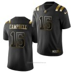 Camiseta NFL Limited New England Patriots Parris Campbell Golden Edition Negro