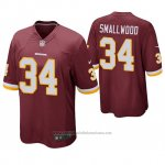 Camiseta NFL Game Washington Redskins Wendell Smallwood Rojo