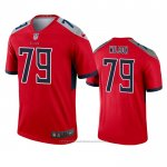 Camiseta NFL Legend Tennessee Titans Isaiah Wilson Inverted Rojo