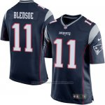 Camiseta New England Patriots Bledsoe Negro Nike Game NFL Hombre