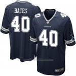 Camiseta Dallas Cowboys Bates Negro Nike Game NFL Nino