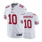 Camiseta NFL Limited San Francisco 49ers Jimmy Garoppolo Blanco Vapor Untouchable