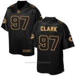 Camiseta Green Bay Packers Clark 2016 Negro Nike Elite Pro Line Gold NFL Hombre