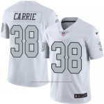 Camiseta Oakland Raiders Carrie Blanco Nike Legend NFL Hombre