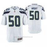Camiseta NFL Game Seattle Seahawks K. J. Wright Blanco