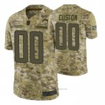 Camiseta NFL Limited Los Angeles Chargers Personalizada Salute To Service Verde