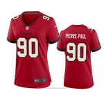 Camiseta NFL Game Mujer Tampa Bay Buccaneers Jason Pierre Paul 2020 Rojo