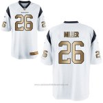 Camiseta Houston Texans Miller Blanco Nike Gold Game NFL Hombre