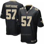 Camiseta New Orleans Saints Hawthorne Negro Nike Game NFL Hombre
