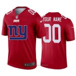 Camiseta NFL Limited New York Giants Personalizada Big Logo Rojo