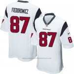 Camiseta Houston Texans Fiedorowicz Blanco Nike Game NFL Nino