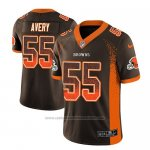 Camiseta NFL Limited Cleveland Browns Genard Avery Marron 2018 Drift Fashion Color Rush