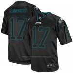 Camiseta NFL Elite Hombre Philadelphia Eagles 17 Alshon Jeffery Negro