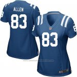 Camiseta Indianapolis Colts Allen Azul Nike Game NFL Mujer